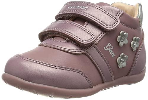 Geox B b fille Elthan Girl First Walker Shoe, Rose foncé, 21 EU