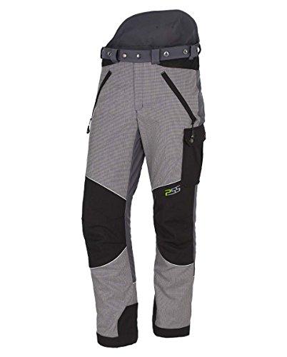 PSS X-Treme Vectran Schnittschutzhose Grau/Schwarz, Größe 29 untersetzt