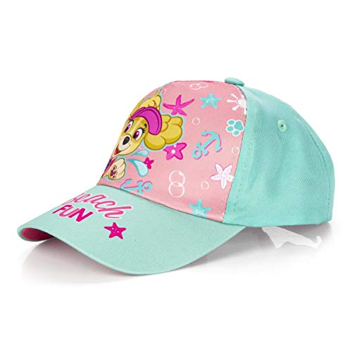 OSAB 3808 Fashion Kinder Cap Baseball Cap Kappe Basecap PAW Patrol Skye Everest Mädchen. (Türkis, OneSize)