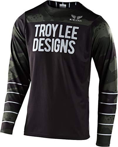 Troy Lee Designs Skyline Pinstripe Men's Off-Road BMX Cycling Jersey
