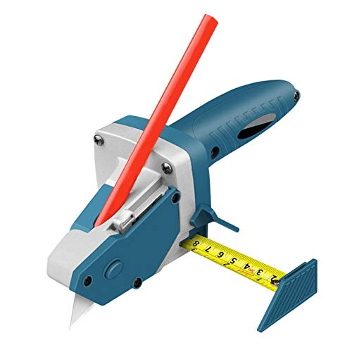 Gypsum Board Cutting Tool,All-in-one Hand Tool with Measuring Tape and Utility Cutter,Alloy Gypsum Board Cutter,for DIY,Gypsum, foam Board, KT Board, Cardboard.