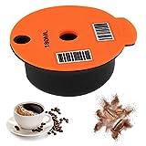 Dan&Dre Wiederverwendbare Kaffeefilter-Kaffeekapseln, nachfüllbar, praktisches Zubehör für...