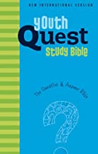 NIV, Youth Quest Study Bible, Hardcover: The Question and Answer Bible
