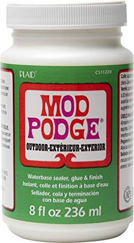 Mod Podge for Outdoor (8-Ounce), CS11220 Clear Finish