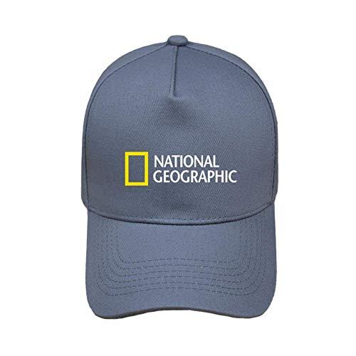 Gorra de Beisbol National Geographic Baseball Cap Moda Cool National Geographic Channel Sombrero Unisex Gorras Al Aire Libre