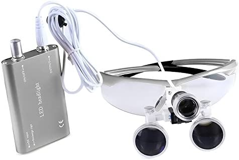 3.5X Binocular Loupes Optical Glass Regular discount 3W LED with Light overseas Headlight