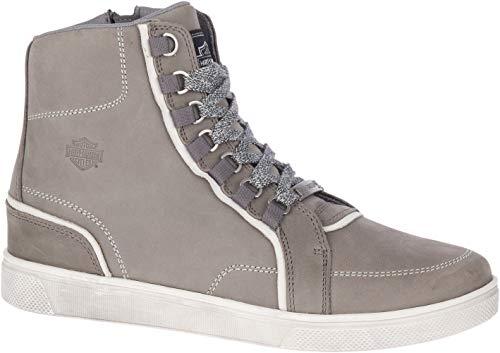 HARLEY-DAVIDSON FOOTWEAR Men's Pelham Motorcycle Boot, Grey, 9