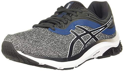 ASICS Men's Gel-Pulse 11 Mx Graphite Grey/White Running Shoe-8 Kids UK (1011A734.021)