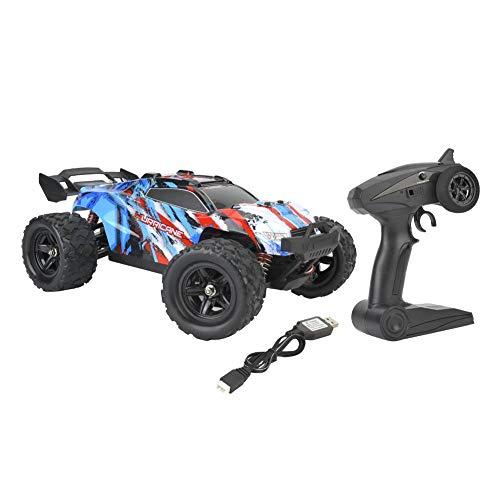 Dilwe RC Fuoristrada, RC Car 2.4 GHz off Road Radio Control Car 1 18 Ruote motrici ad Alta velocità RC Toy Model Car(Blu)