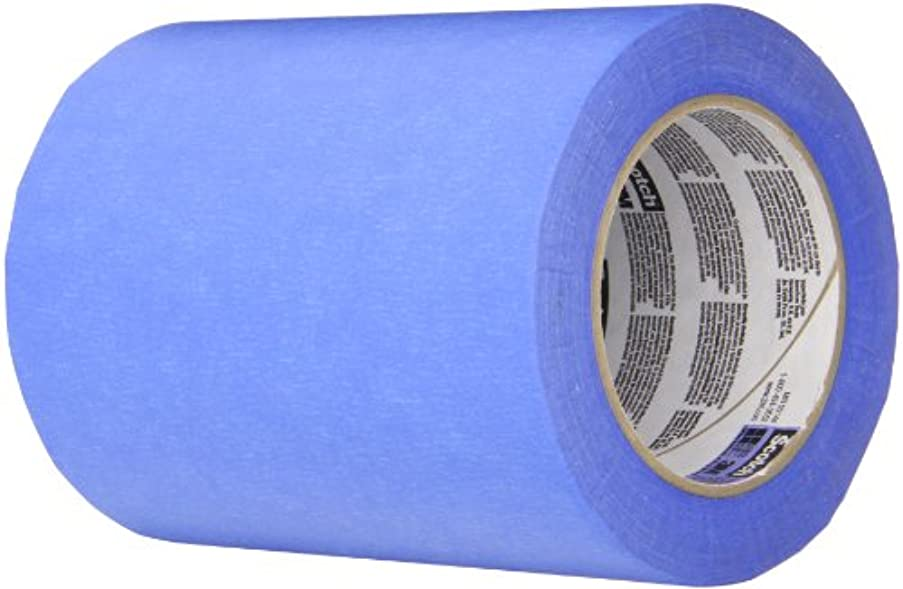TapeCase 2090 Long-Mask Masking Tape Converted from 3M 2090-0.188 in. x 180 ft. Masking Tape Roll for Medium Adhesion. Painting Wall Preparation