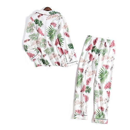 Winter Dames pyjama Set Lange Mouw Nachtkleding Broek Pijama Slaapmode