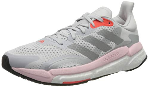adidas Solar Boost 21 W, Zapatillas para Correr Mujer, Dash Grey/Silver Met./Fresh Candy, 39 1/3 EU ⭐
