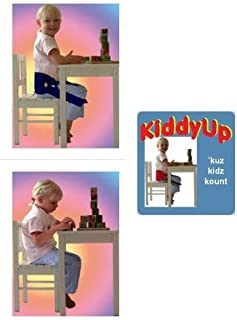 Nada Chair Kiddy-Up Adjustable Child Posture Corrector for Sitting and Stretching (Navy)