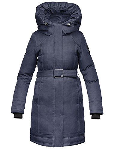 Nobis The Astrid Damen Parka (Medium, CH Navy)