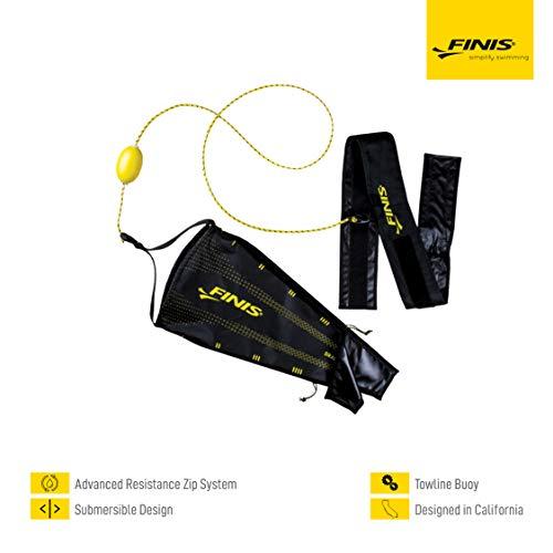 Finis Drag+Fly Adjustable Swim Chute, schwarz, One Size