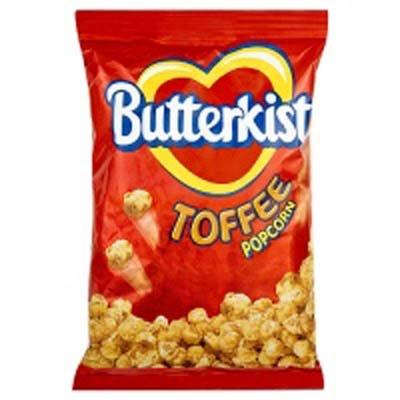 Best Bargain Butterkist Toffee Popcorn 12x100g