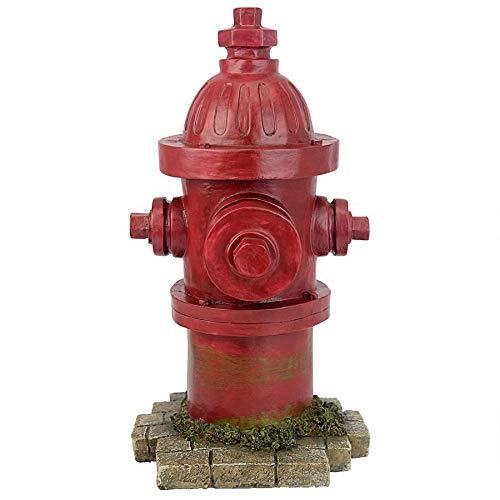Design Toscano QL5468 Puppy Pee Post-Dog's Second Best Friend Fire Hydrant Statue, Single