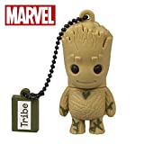 Llave USB 16 GB Groot - Memoria Flash Drive 2.0 Original Marvel Avengers, Tribe FD035502