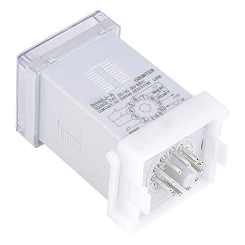 Contador digital, display de LED Contador de LED claro para controle remoto para controle automático de mecatrônica para comunicação(220VAC)