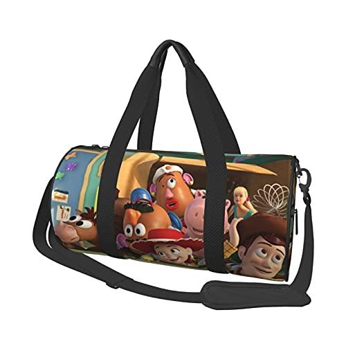 Toy Story - Borsone da viaggio a breve distanza, grande capacità, per ufficio, viaggi, nuoto, fitness, moda, impermeabile, portatile, da viaggio