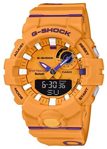 [カシオ] 腕時計 ジーショック 歩数計測 Bluetooth 搭載 GBA-800DG-9AJF メンズ イエロー