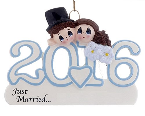 2016 Wedding Couple - Just Married - FREE Personalization