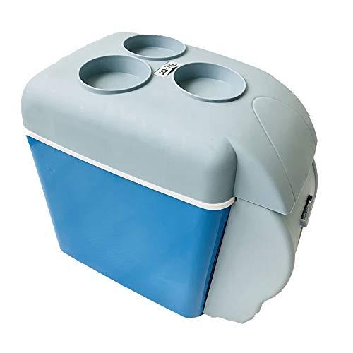 Frigo RéFrigéRateur Congelateur Glaciere Réfrigérateur chaud et froid 7.5L voiture petit réfrigérateur multi-fonction mini voiture portable (Color : Blue)