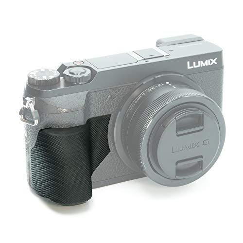 Lumix GX80/85 Grip Upgrade, Weatherproof, Diamond Grip Non-Slip Camera Body Upgrade. Ergonomic Industrial Polymer Construction, Engineered for Panasonic Lumix DMC- GX85 Body.