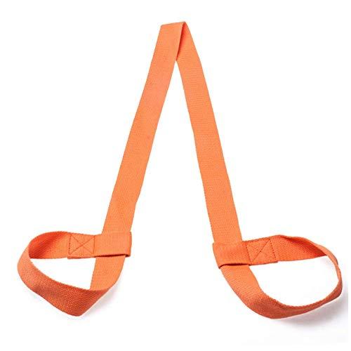 Haltbare Yogamatte, Gurt für Gurte und Yogamatte, Orange, Einheitsgröße