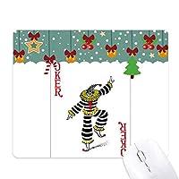 レッド・カードのパターンを演奏・ジョーカー ゲーム用スライドゴムのマウスパッドクリスマス