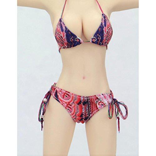 Daily Mall 1/6 Skala Underwear Sexy Bikini Badeanzug Kleidung Set Für Takara Cy Mädchen Hot Toys Kumik Phicen TTL Bbi Weibliche Figur - Mehrfarbig, /