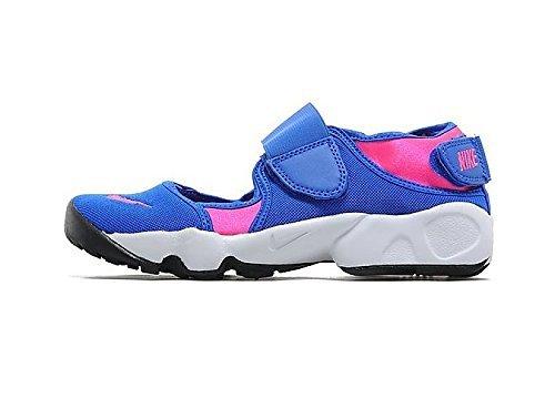 Nike Nike Mädchen Rift (GS/PS Girls) Fitnessschuhe, Blau/Pink/Weiß (Hyper Cobalt Hyper Pink White), 36 EU