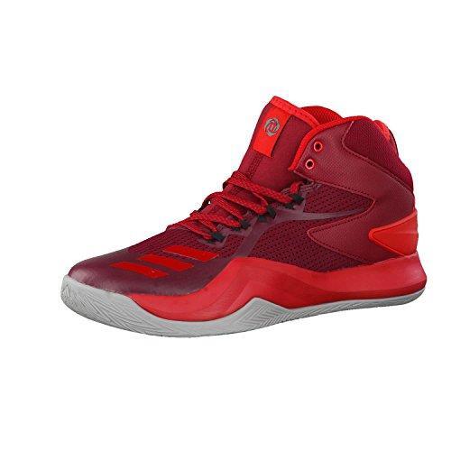 Adidas D Rose Dominate IV, Zapatillas de Baloncesto Hombre, Rojo Buruni Escarl Grpumg 000, 44 EU