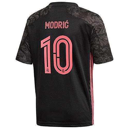 Modric #10 Real Madrid Third Men's Jersey 20-21 (S) Black/Pink