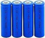 3.7V Icr 14500 1500Mah Baterías De Litio Li-Ion Batería De Litio para Modelo De Aire Micrófono-4 Piezas