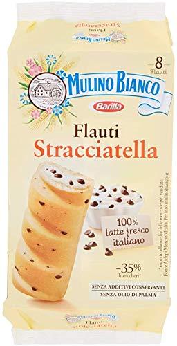6x Mulino Bianco Kuchen mit Stracciatella Flauti 8x 35g kekse riegel snack