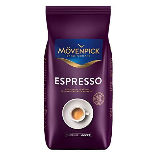 Mövenpick ESPRESSO ganze Bohnen 4x 1000g (4000g) - Kaffee ARABICA mit Robusta