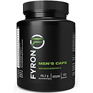 Fyron Mens + Sperm + Performance + testosterone - 100 vegan capsules:Amedama