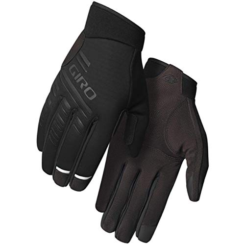 Giro Herren Wi Cascade E-Bike|Gravel|MTB|Rennrad|Touring|Triathlon/Aero Handschuhe, Black, L