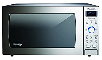Panasonic Countertop / Built-In Microwave Oven with Cyclonic Wave Inverter Technology and 1250W of Cooking Power - NN-SD775S - 1.6 cu ft  Stainless Steel / Silver