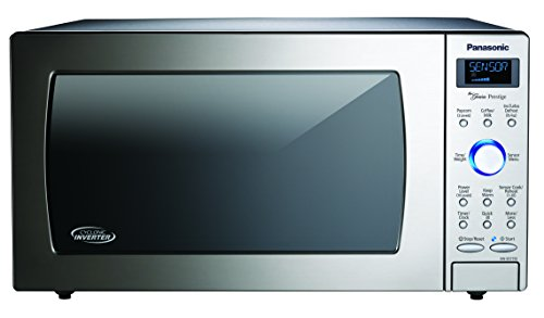 Panasonic Countertop / Built-In Microwave Oven with Cyclonic Wave Inverter Technology and 1250W of Cooking Power - NN-SD775S - 1.6 cu. ft (Stainless Steel / Silver)