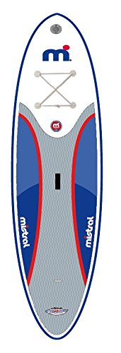 Mistral Standup Paddel Board,Wind SUP Crossover 10'0 inkl. 3teilig. Bravo Alu Paddle (IPL-Edition)