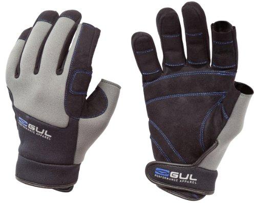 GUL - Winter Three Finger, Color Black, Talla JS