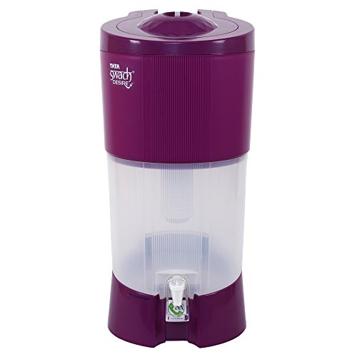Tata Swach Desire + 27-Litre Gravity Based Water Purifier (Blooming Magenta)