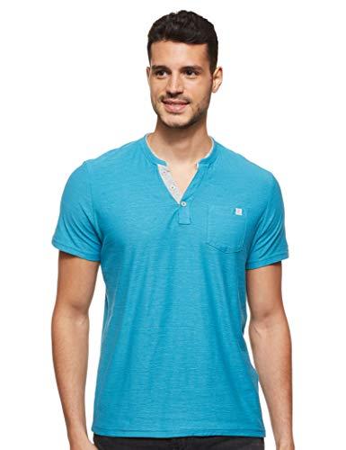 Jack & Jones Jjecorp Logo tee SS Crew Neck Noos Camiseta, Azul (Navy Blazer Detail: Slim Fit), Large para Hombre