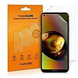 kwmobile 3X Schutzfolie kompatibel mit Nokia 5.4 - Folie klar - Bildschirmschutzfolie Bildschirmschutz transparent Bildschirmfolie