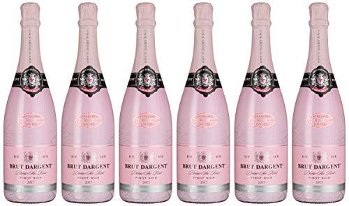 Brut Dargent Ice Rosé Méthode Traditionnelle Halbtrocken Sekt 6er Pack (6 x 0.75 l)