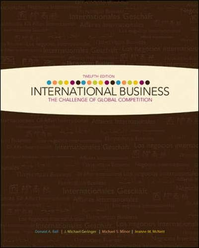 International Business: The Challenge of Global...