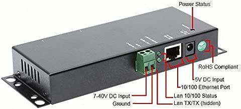 SerialGear 2-Port RS-232 to Ethernet Gateway