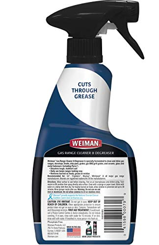 Weiman Gas Range Cooktop Cleaner and Degreaser